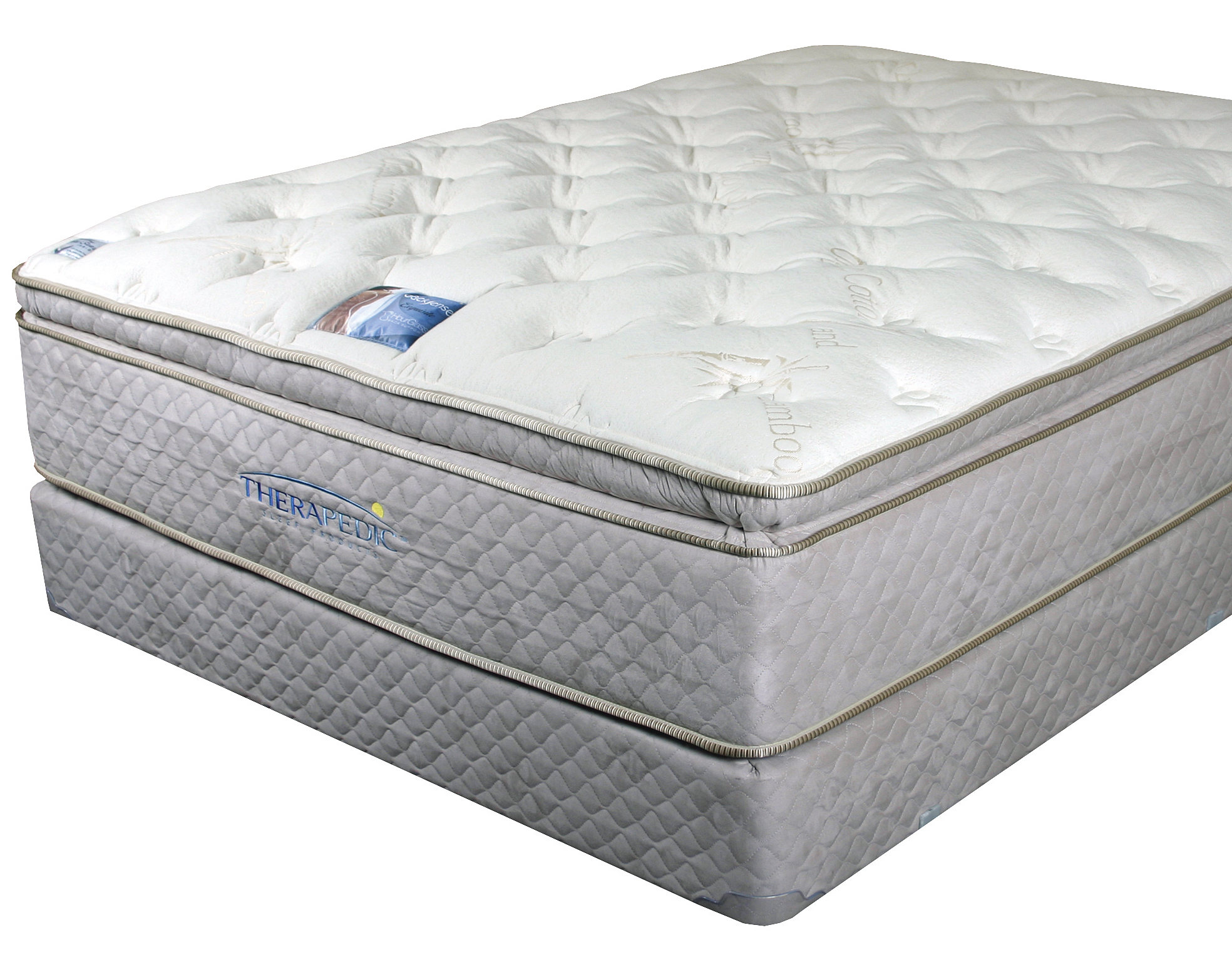 Therapedic Backsense Elite Plush Latex Pillow Top Mattresses