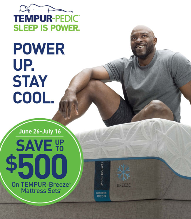 Tempur Pedic Mattress Event