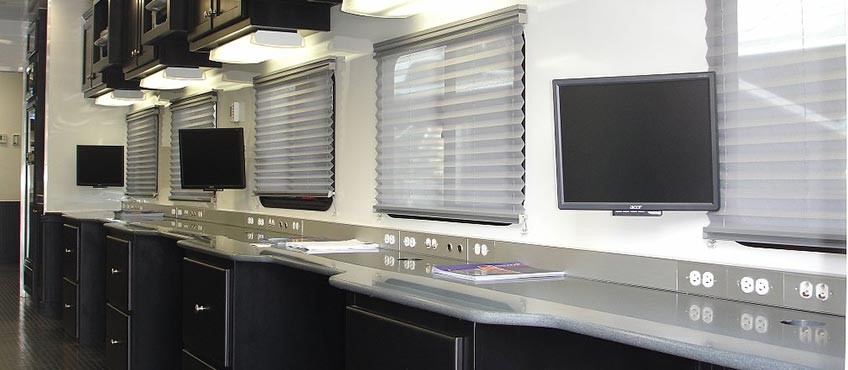 Command Center & Work Trailers