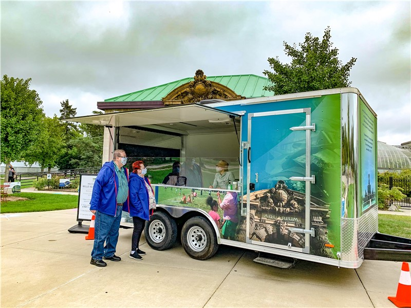 Belle Isle Conservancy Reopen Paving the Way Toward Reopening with 16' Concession Trailer