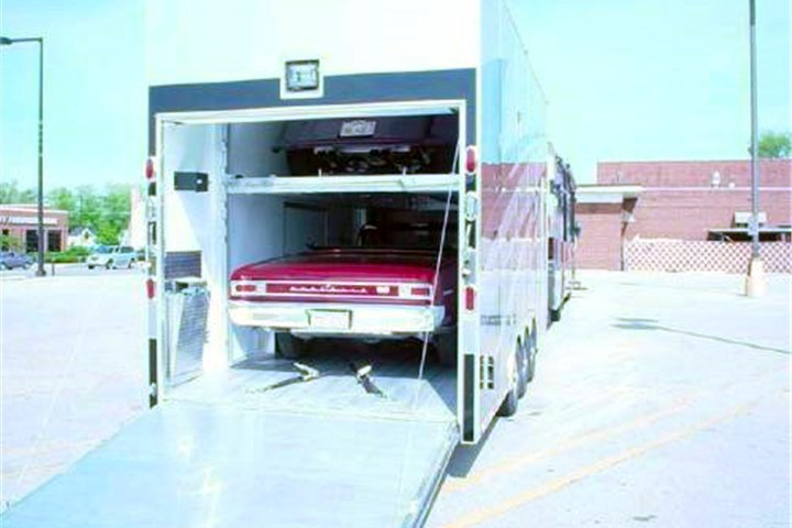 car stacker trailer