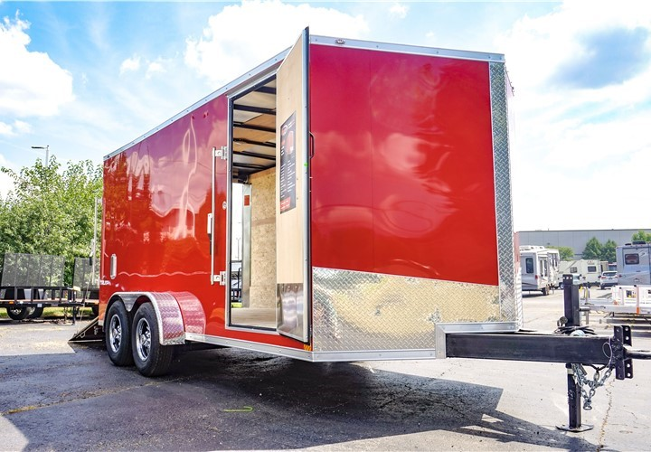 7'x16' Formula Triumph Enclosed Cargo Trailer