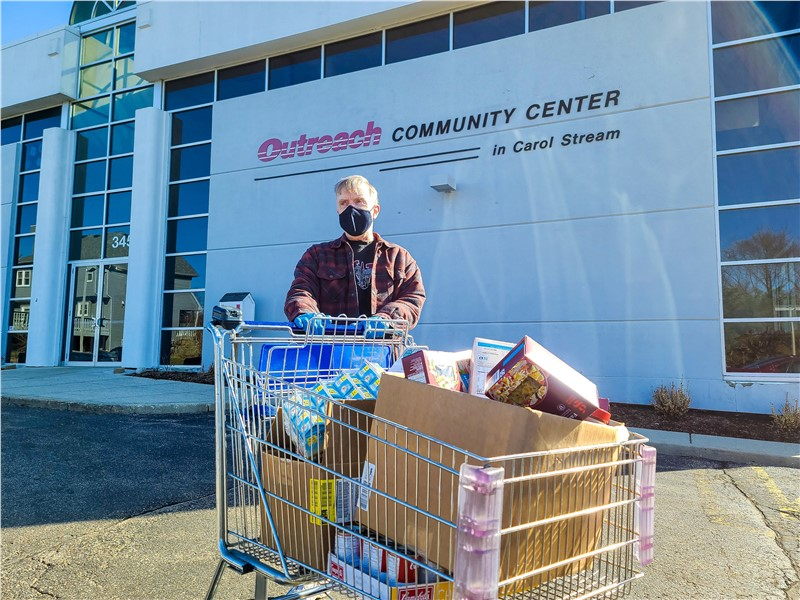 Advantage Trailer February Food Drive Yields 400 Pounds for Local Food Bank