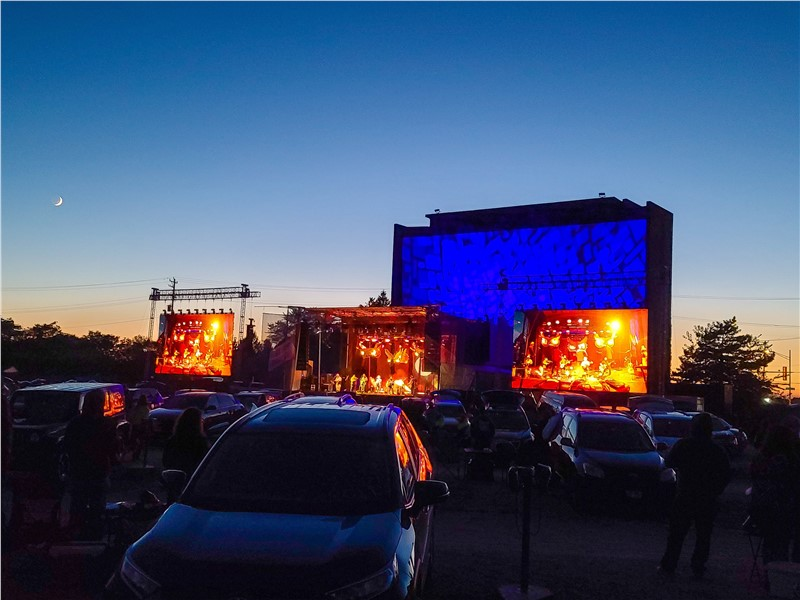 Drive-In Show at McHenry Outdoor Theater