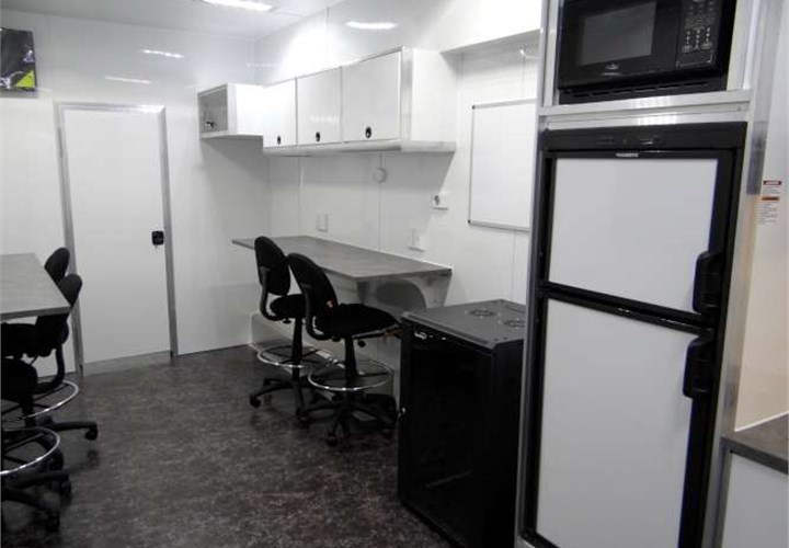 mobile office trailers customized