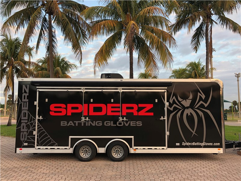 Top 10 Trailers of 2019: #7 - Spiderz Batting Gloves Mobile Retail Trailer