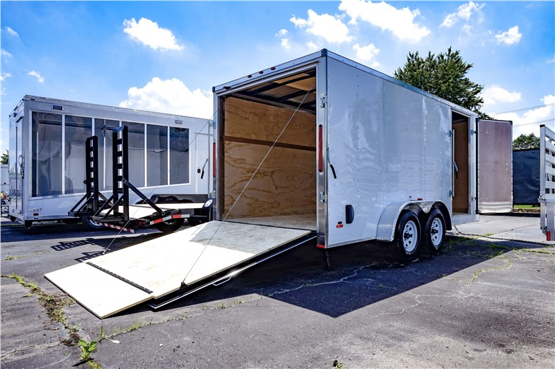 MTI 7'x16' Enclosed Cargo Trailer