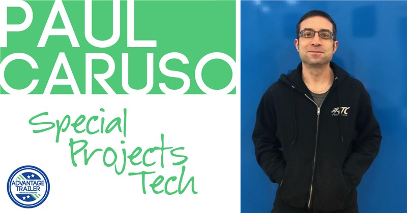 Advantage Spotlight: Special projects tech Paul Caruso celebrating 20 years at Advantage!