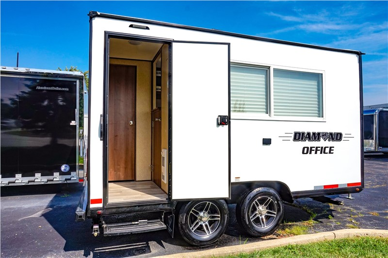 17-foot mobile office trailer
