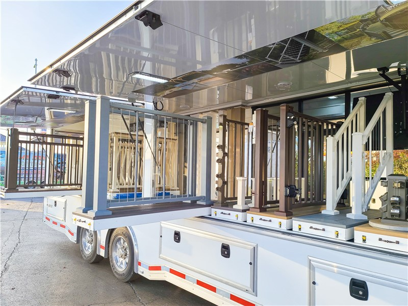 36' Display Trailer allows Digger Specialties to Showcase Products Despite Pandemic