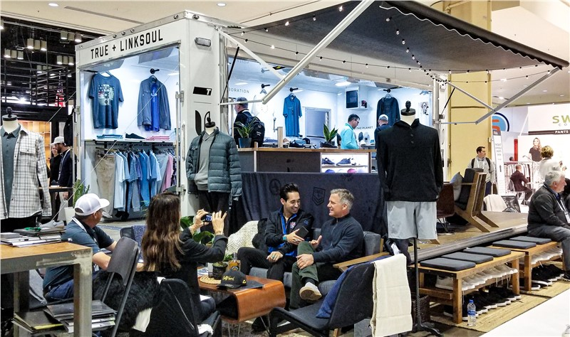 TRUE Linkswear + Linksoul Collab Kicks off Pop-Up Pro Shop Mobile Tour with 20-foot Stage Trailer