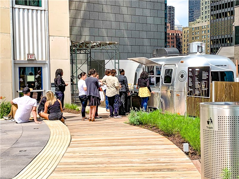 Top 10 Trailers of 2019: #1: Prudential Rooftop Pop-Up Restaurant Airstream Trailer