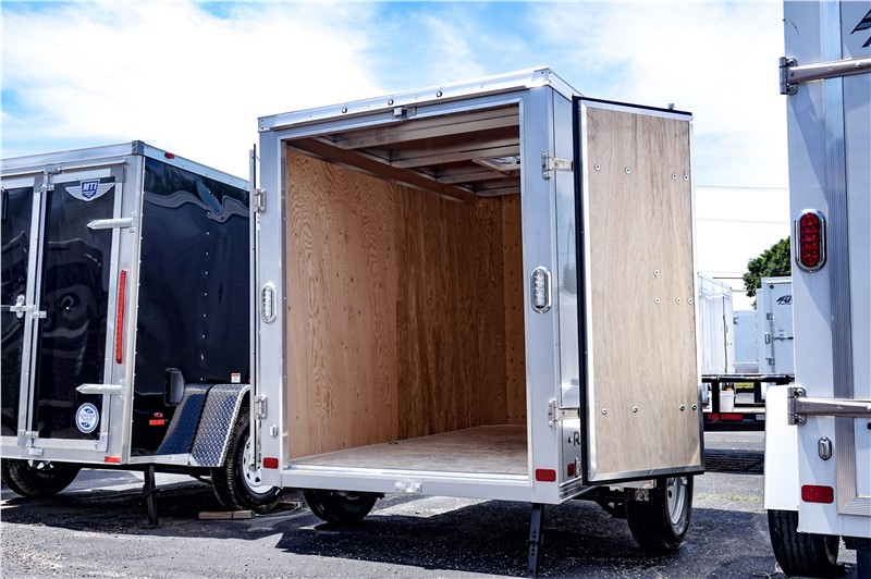 ATC 5'x8' Enclosed Cargo Trailer with Cargo Doors