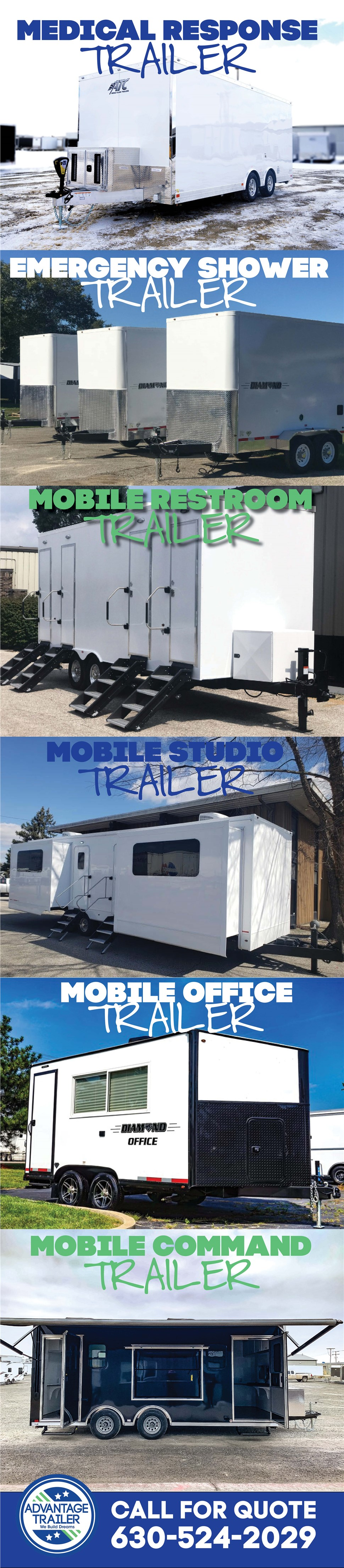 Medical & Emergency Response Trailers