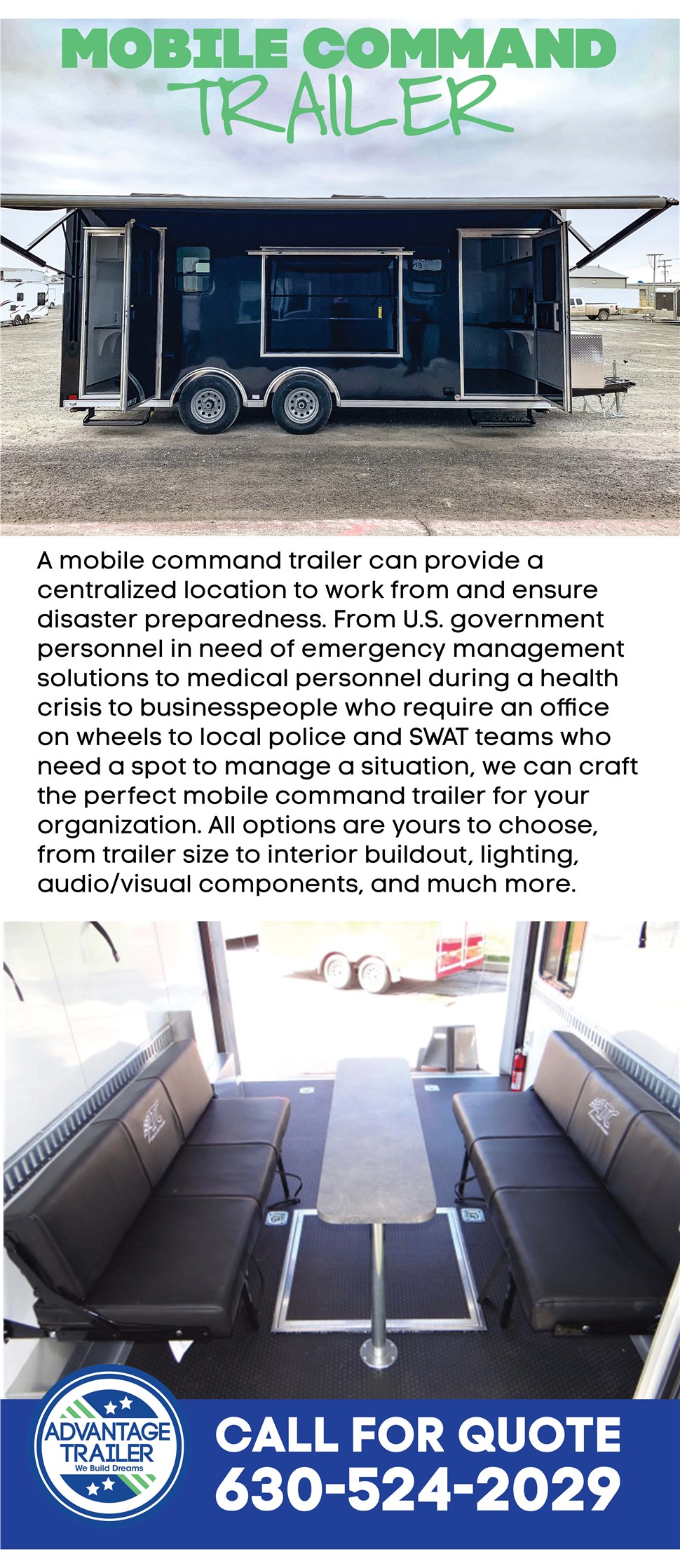 Mobile Command Trailers