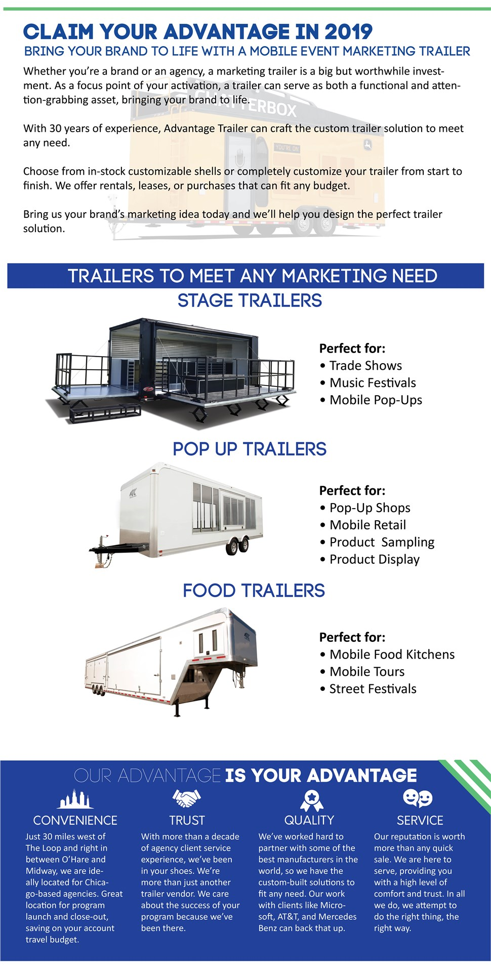 How can we serve your Mobil Event Marketing Trailer needs today?