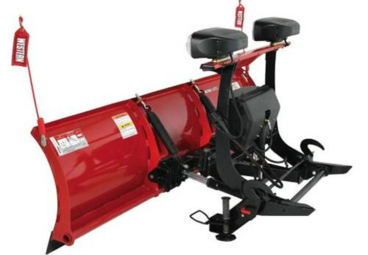 Western Pro Plows Steel And Poly Blades Advantage Trailer