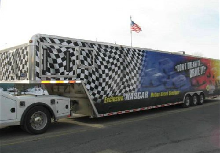 Atc Nascar Simulator Game Trailer Mobile Marketing Event
