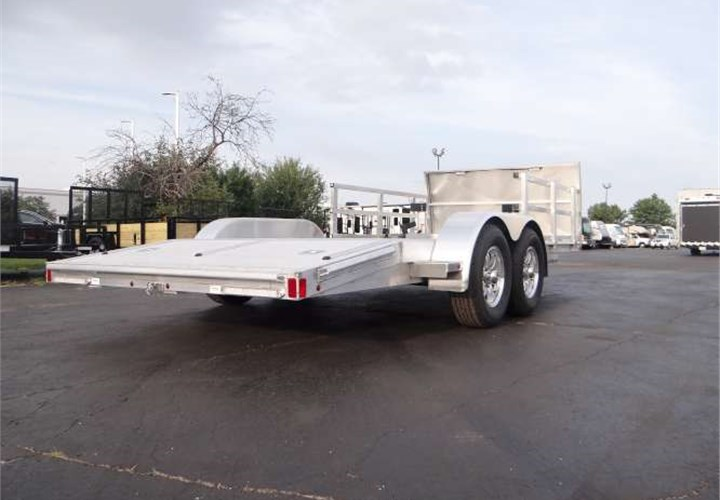 Custom Built Amp Outfitted 18 Open Car Hauler Advantage