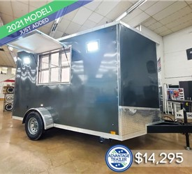 7'x12' Discovery Concession Trailer