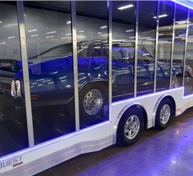 26' ATC Clear View Sided Car Hauler