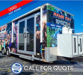 28' ATC Mobile Retail Trailer - Used