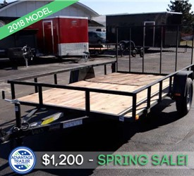 6.5'x12' Open Utility Trailer by U.S. Cargo/Forest River