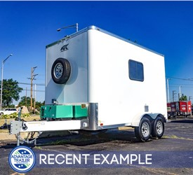 ATC Fiber Splicing Trailer with 4k Generator - Recent Example