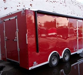 18' Mobile Dive Rescue Command Trailer