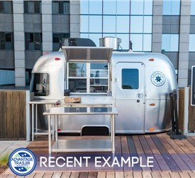 Pop-Up Restaurant Airstream Trailer - Recent Example