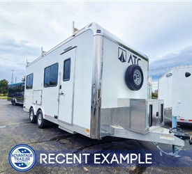 8.5'x20' ATC Office Trailer - Recent Example