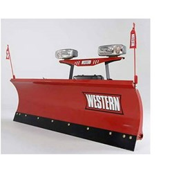 The WESTERN HTS Half-Ton Snow Plow
