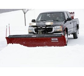 Western Pro Plus Snowplows The Most Heavy-Duty Straight Blade for Contractors on the Market. Period