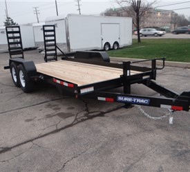 7' x 16' Skid Steer Hauler for a Local Contractor