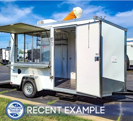 6'x12' Ice Cream Trailer - Recent Example