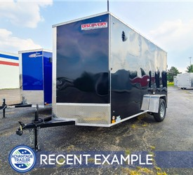 6'x12' Discovery Cargo Trailer - Recent Example