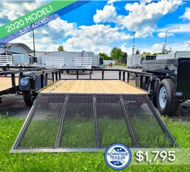Sure-Trac 6'x10' Tube Top Utility Trailer