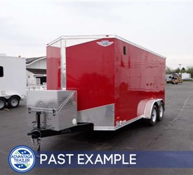 Custom 16' Motocross Bike Hauler - Past Example