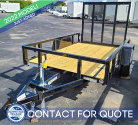 5'x8' Tube Top Utility Trailer from Sure-Trac