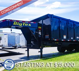 8'x20' Big Tex Dump Trailer - Consignment Trailer