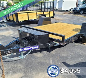 12' Sure-Trac Tilt Equipment Trailer