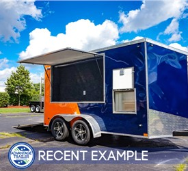 Custom Tailgating Trailer for Illinois football