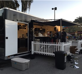 Mobile Coffee Shop Stage Trailer
