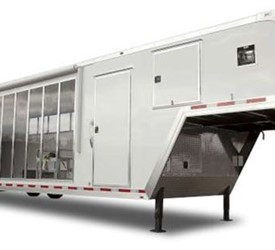 Off-site testing and training events trailer for Goodyear Tire & Rubber Company