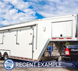 30-foot Gooseneck Stage Trailer for Experiential Marketing