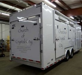 Custom Outreach / Living Quarter Trailer