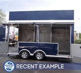 8.5' x 16' Experiential Marketing Trailer