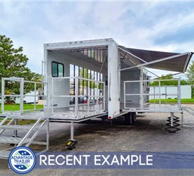 28' Mobile Pilates Studio Trailer - Recent Example