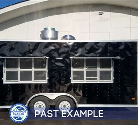 Concession Trailer a Regional BBQ Catering Business - Past Example