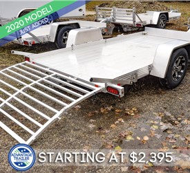 Bear Track 5'x10' Open Utility Trailer